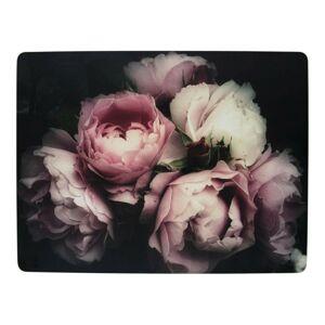 4ks pevné korkové prostírání Vintage Roses - 30*40*0,4cm