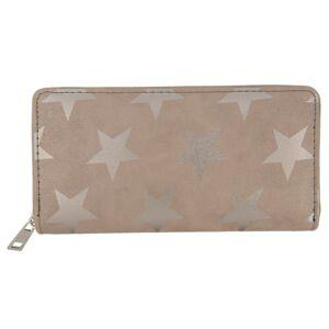 Béžová peněženka All stars - 19*9 cm Juleeze