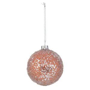 Bronzová vánoční koule - Ø 7 cm Clayre & Eef