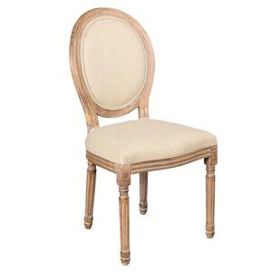 Čalouněná židle Julie - 50*55*96 cm Clayre & Eef