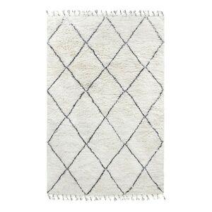 Černobílý koberec - 180*280 cm HKLIVING
