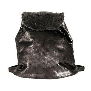 Černý batoh s flitry - 24*11*33 cm Juleeze