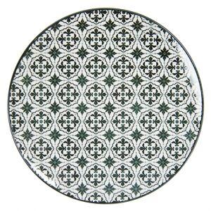 Černý jídelní talíř Blackor - Ø  26 cm Clayre & Eef