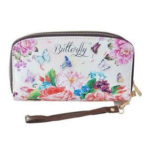 Dámská peněženka Butterfly - 19*10 cm Clayre & Eef
