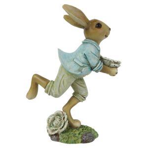 Dekorace běžící králík - 11*6*15 cm