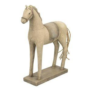 Dekorace koník Lilian s patinou - 19*6*26 cm Exner