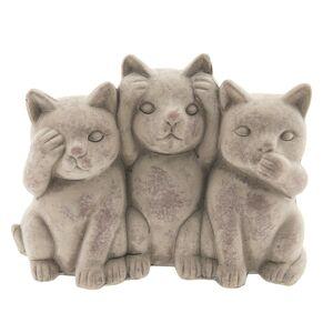 Dekorace sedící kočičky Cats - 22*10*16 cm