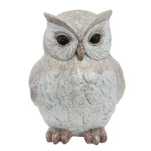 Dekorace sovička Owl - 9*11*14 cm Clayre & Eef