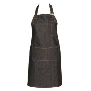 Denim kuchyňská zástěra - 80*68 cm Clayre & Eef