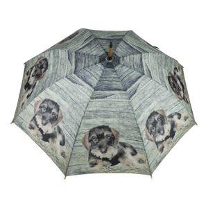 Deštník s jezevčíkem - Ø 105*88cm