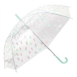 Dětský deštník s kapkami Drops green - Ø 90*55 cm Juleeze