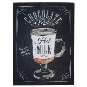 Dřevěná cedule Chocolate - 30*1*40 cm Clayre & Eef