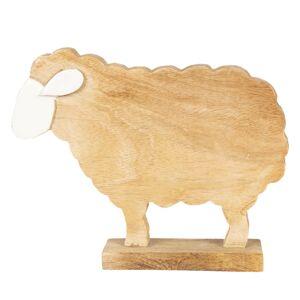 Dřevěná velikonoční dekorace Ovečka - 25*19*5 cm