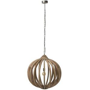 Dřevěné stropní světlo Ball Bars - Ø 70*178 cm J-Line