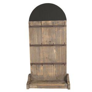 Dřevěný retro stojan na klíče/šperky - 38*24*79 cm