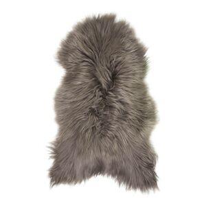 Hnědá ovčí kůže z Islandské ovce Iceland hazelnut - 115*75*5cm