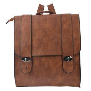 Hnědý batoh Crobin - 30*27 cm