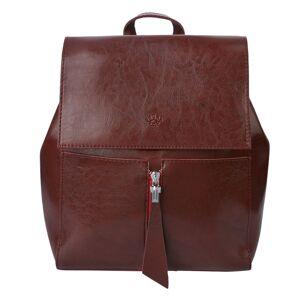 Hnědý batoh Laurentine - 33*28 cm
