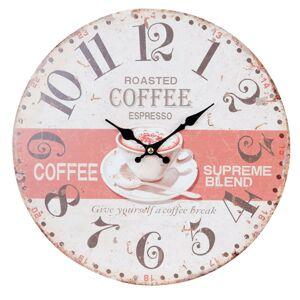 Hodiny Coffee Clayre & Eef