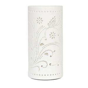 Keramická stolní lampa Butterfly - Ø 12*25 cm / E27/max 1*30W Clayre & Eef