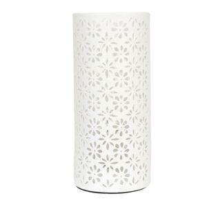 Keramická stolní lampa kytičky - Ø 12*28 cm / E27/max 1*30W Clayre & Eef