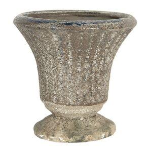 Keramický květináč v antickém stylu Tasse – Ø 11*11 cm