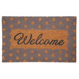 Kokosová rohožka Welcome - 75*1*45 cm Clayre & Eef