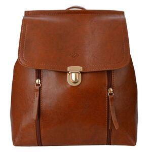 Koňakový batoh Honorine - 33*28 cm Clayre & Eef