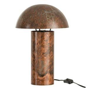Kovová stolní lampa Mushroom antik - Ø 25*40 cm J-Line