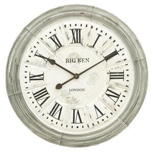 Kovové nástěnné hodiny BIG BEN - Ø 60*5 cm Clayre & Eef