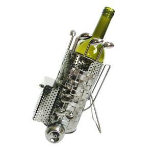Kovový držák na víno v designu golfového bagu Chevalier - 20*13*24 cm Clayre & Eef