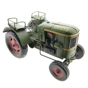 Kovový model retro traktoru Deutz - 26*17*14 cm