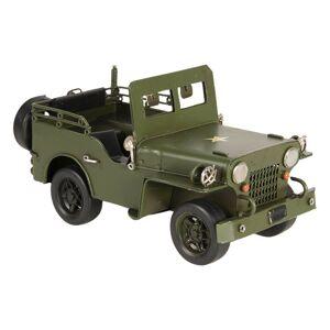 Kovový model vojenského jeepu - 17*9*9 cm