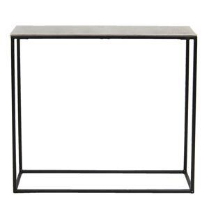 Kovový odkládací stolek Olympe - 75*23*62 cm