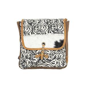 Kožený designový cestovní batoh Nikol - 29*8*31cm