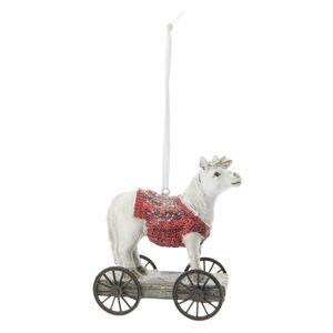 Kůň na kolečkách - 9*5*10 cm Clayre & Eef