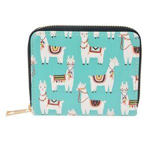 Menší peněženka Lama - 12*10*2 cm Clayre & Eef