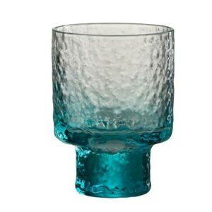 Modrá sklenička na likér Verma - Ø 7*10cm