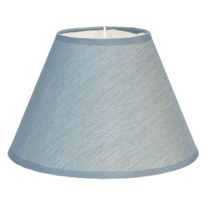 Modré textilní stínidlo Couleurs - Ø 46*28 cm Clayre & Eef