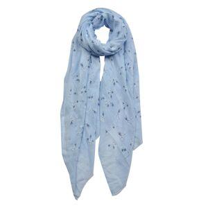 Modrý šátek - 70*180 cm
