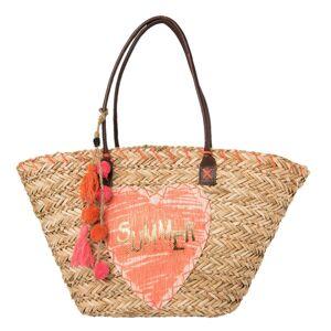 Nákupní/plážová taška Adya -58*28 cm Clayre & Eef