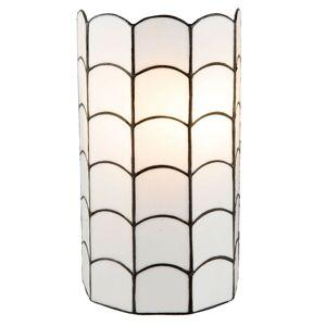 Nástěnná lampa Tiffany Nandini - 19*11*35 cm / E14/max 2*40W Clayre & Eef