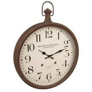 Nástěnné hodiny William Sutton and Co. - 51*6*40 cm Clayre & Eef