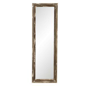 Nástěnné zrcadlo ve vintage stylu s patinou Eumaurri - 22*3*70 cm