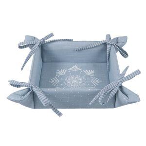 Oboustranný textilní košíček Winter Wishes - 35*35*8 cm Clayre & Eef