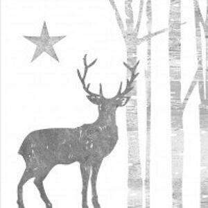 Papírové ubrousky s jelenem Deer I - 33*33 cm (20) PPD