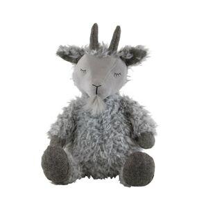 Plyšová hračka šedý spící kozel - 40cm