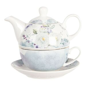 Porcelánový tea for one Butterfly  - 0,46L Clayre & Eef