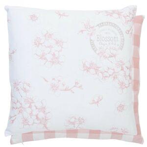 Povlak na polštář Lovely Blossom Flowers - 40*40 cm Clayre & Eef