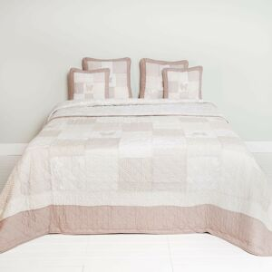 Přehoz na dvoulůžkové postele Quilt 160- 180*260 cm Clayre & Eef